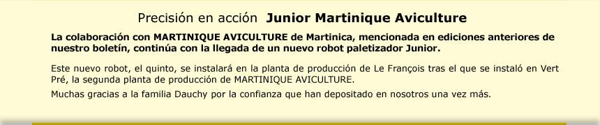 Precisión en acción  Junior Martinique Aviculture